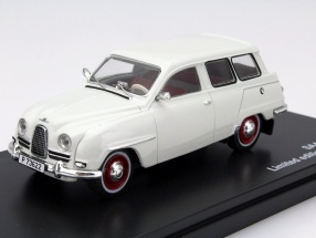 Saab 95 Year 1961 white 1:43 Triple9