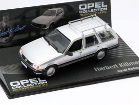 Opel Rekord E Herbert Killmer silver 1:43 Altaya