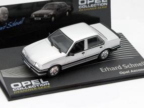 Opel Ascona C Erhard Schnell silver 1:43 Altaya