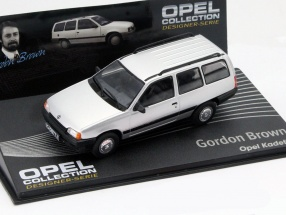 Opel Kadett E Gordon Brown silver 1:43 Altaya