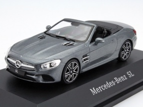 Mercedes-Benz SL MOPF R231 selenite gray 1:43 Spark