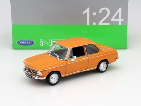 BMW 2002ti orange 1:24 Welly