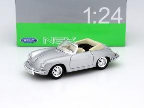 Porsche 356B Baujahr 1958 silber 1:24 Welly