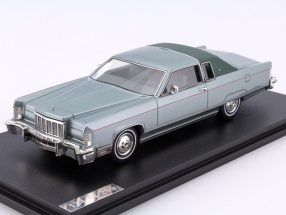 Lincoln Continental Coupe Year 1976 green 1:43 GLM