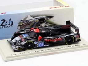 Ligier JSP2 #31 24h LeMans 2015 Brown, van Overbeek, Fogarty 1:43 Spark