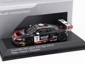 Audi R8 LMS Ultra #3 3rd 24h Spa 2014 Mies, Stippler, Nash 1:43 Spark
