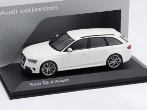Audi RS 4 Avant ibis white 1:43 Minichamps