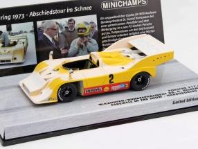 Porsche 917/10 #2 Nürburgring 1973 Kauhsen, Heinemann Snow Edition 1:43 Minichamps