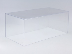 Acryl Vitrinenhaube für Modellautos im Maßstab 1:18 BBR
