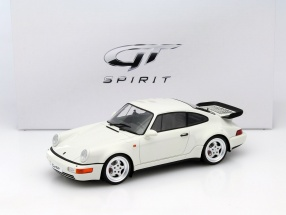 Porsche 911 (964) Turbo 3.6 Year 1993 white 1:18 GT-SPIRIT