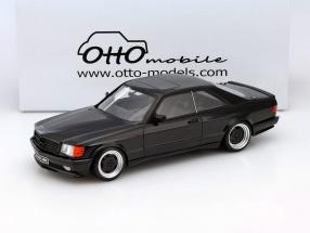 Mercedes-Benz 560 SEC AMG W126 Wide Body black 1:18 OttOmobile