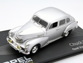 Opel Kapitän year 1951-53 Chuck Jordan silver 1:43 Altaya