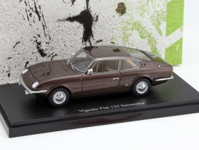Vignale Fiat 125 Samantha Year 1967 brown 1:43 AutoCult