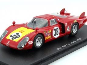 Alfa Romeo T33/2 #38 24h LeMans 1968 Facetti, Dini 1:43 Spark