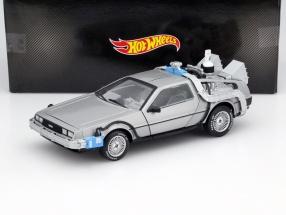 Delorean DMC12 Movie Back to the Future III 1990 with Mr. Fusion 1:18 HotWheels