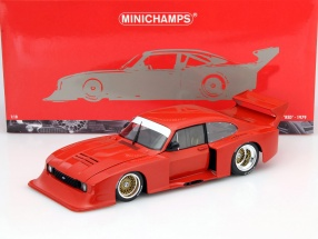 Ford Capri Turbo Gr.5 Baujahr 1979 Plain Body Version rot 1:18 Minichamps