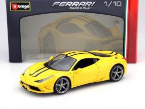 Ferrari 458 Speciale yellow 1:18 Bburago