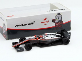 Jenson Button McLaren MP4-30 #22 China GP formula 1 2015 1:64 Spark