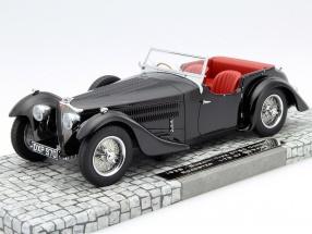 Bugatti Type 57SC Corsica Roadster Year 1938 black 1:18 Minichamps