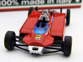 G. Villeneuve Ferrari 126CK turbo #27 Test Montecarlo Formel 1 1981 1:43 Brumm