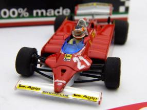 G. Villeneuve Ferrari 126CK turbo #27 GP USA formula one 1981 1:43 Brumm