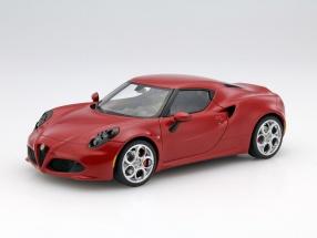 Alfa Romeo 4C Baujahr 2013 Alfa dunkelrot 1:18 AUTOart
