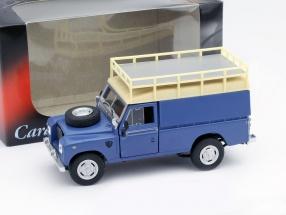 Land Rover Series III 109 blau 1:43 Cararama