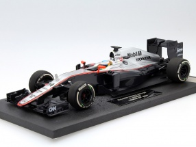 Fernando Alonso McLaren MP4-30 #14 China GP Formel 1 2015 1:18 Minichamps