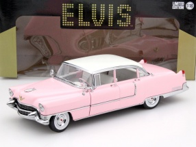 Cadillac Fleetwood Series 60 Elvis Presley Baujahr 1955 pink 1:18 Greenlight