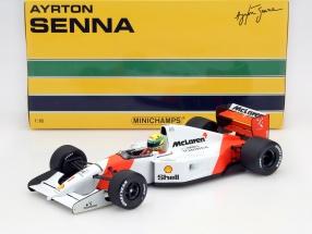 Ayrton Senna McLaren MP4/7 #1 formula 1 1992 1:18 Minichamps