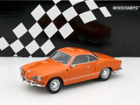 Volkswagen VW Ghia Baujahr 1970 orange 1:18 Minichamps