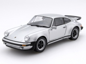 Porsche 911 Turbo 3.0 Baujahr 1974 silber 1:24 Welly