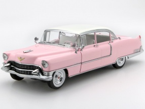 Cadillac Fleetwood Series 60 Elvis Presley Year 1955 pink 1:18 Greenlight