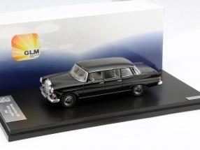 Mercedes-Benz 200 W110 Binz Limousine Year 1965 black 1:43 GLM