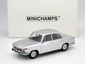 BMW 1800 Ti Baujahr 1965 silber 1:18 Minichamps