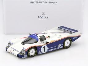 Porsche 962 C #1 Winner 24h LeMans 1986 Bell, Stuck, Holbert 1:18 Norev