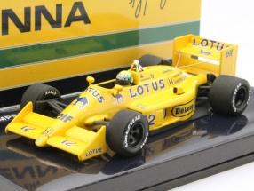 Ayrton Senna Lotus 99T #12 Formel 1 1987 1:43 Minichamps