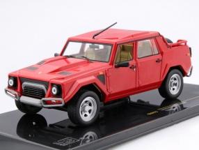 Lamborghini LM002 Year 1986 red 1:43 Ixo