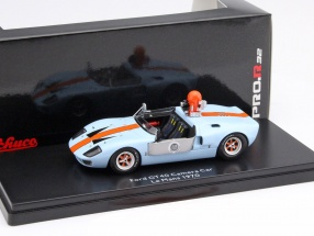 Ford GT40 Camera Car from the Movie Le Mans 1970 1:43 Schuco