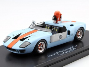 Ford GT40 Camera Car aus dem Film Le Mans 1970 1:43 Schuco