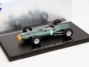 Graham Hill BRM P261 #8 Winner Monaco GP Formel 1 1964 1:43 Spark
