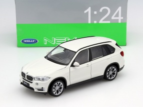 BMW X5 (F15) Year 2015 White 1:24 Welly