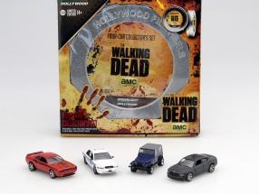 The Walking Dead 4-Car set version 1 1:64 Greenlight