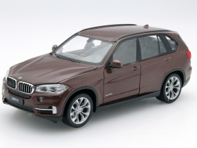 BMW X5 (F15) Baujahr 2015 braun 1:24 Welly