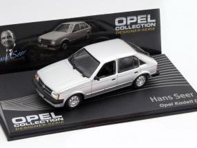 Opel Kadett D Hans Seer Year 1996-2002 silver 1:43 Altaya