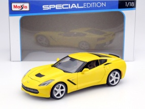 Chevrolet Corvette Stingray Baujahr 2014 gelb 1:18 Maisto