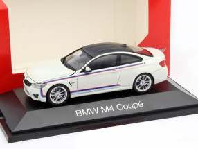 BMW M4 Coupe White 1:43 Herpa
