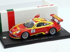 Porsche Mobil 1 #12 Supercup 2015 Van Lagen 1:43 Spark