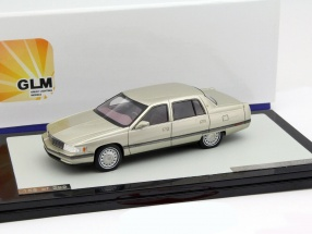 Cadillac Sedan DeVille Year 1994 gold metallic 1:43 GLM