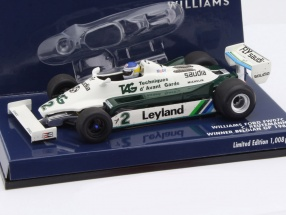 Carlos Reutemann Williams FW07C #2 Winner Belgium GP formula 1 1981 1:43 Minichamps